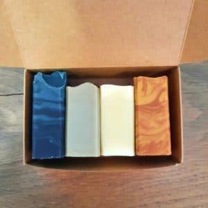 Coffret découverte 4 mini savons